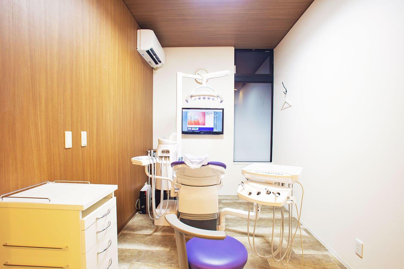埼玉県 久喜市 青毛 ハートデンタルクリニック 診療室